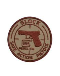 Glock Safe Action Velcro/Hook & Loop Embroidered Patch