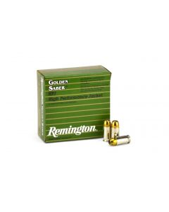 Remington Golden Saber .380 ACP 102 Grain JHP Case GS380B-CASE