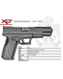 Springfield XD(M) Full 10mm 15+1 Black