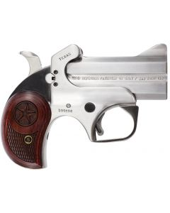 Bond Arms Texas Defender Derringer 45 LC/410 Ga 2 Round  Stainless