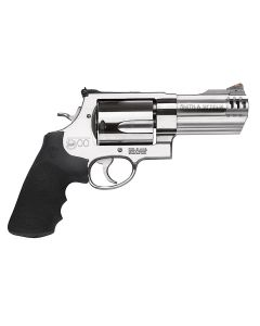 """Smith & Wesson 500 Standard 500 S&W 4"""" 5 rd Black/Stainless"""