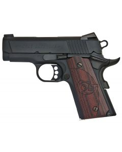 Colt 1911 Defender Single 45 ACP 7+1 Black Cherry/Blued