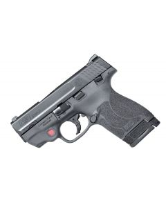 Smith & Wesson M&P 9 Shield M2.0 Crimson Trace Red Laser 9mm 7+1/8+1 MS Black