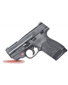 Smith & Wesson M&P 40 Shield M2.0 with Crimson Trace Red Laser 40 S&W 6+1/7+1 Black