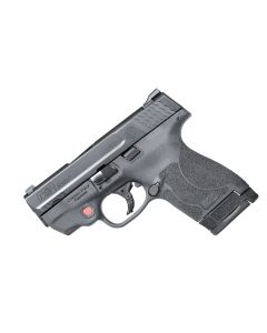 Smith & Wesson M&P 9 Shield M2.0 Crimson Trace Red Laser 9mm 7+1/8+1 NMS Black