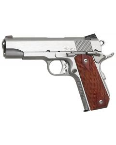 Dan Wesson Commander Classic Bobtail 45 ACP 8+1 Wood/Stainless