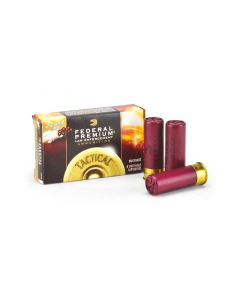 "Federal Tactical 12 Ga Reduced-Recoil 2-3/4"" 8 Pellet FLITECONTROL 00 Buck Shot"