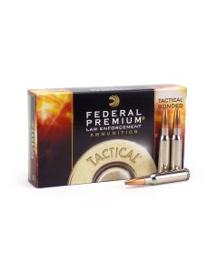 Federal LE Tactical .308 Win 165 Gr Bonded Soft Point