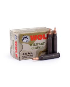 Wolf Military Classic .223 Rem 62 Gr HP