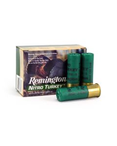 "Remington Nitro Turkey 12 Ga 3"" 1-7/8 Oz No.5 Lead Shot Case NT12H5-CASE"