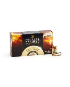Federal Premium Hydra-Shok 9mm 124 Grain JHP Case P9HS1G1-CASE