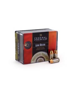 Federal Hydra Shok .380 ACP 90 Grain Reduced Recoil JHP