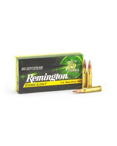 Remington Core-Lokt .308 Win 180 Grain PSP