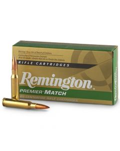 Remington Premier Match .308 Win 168 Grain BTHP