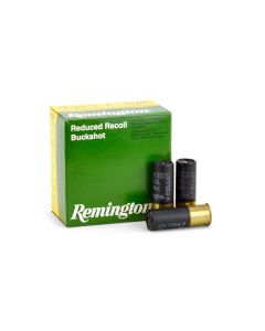 "Remington LE 12 Ga Reduced-Recoil 2-3/4"" 9 Pellet 00 Buck Shot"