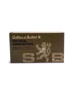 Sellier & Bellot 6.5 Creedmoor 140 Gr FMJ