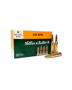 Sellier & Bellot .243 Win 100 Grain SP
