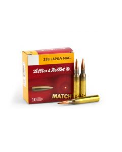 Sellier & Bellot .338 Lapua 250 Gr BTHP (Case)