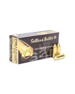 Sellier & Bellot 9mm 115 Grain FMJ