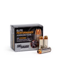 Sig Sauer .45 Long Colt 230 Grain V-Crown JHP