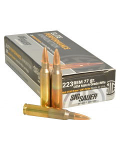 Sig Sauer Elite Performance .223 Rem 77 Grain OTM