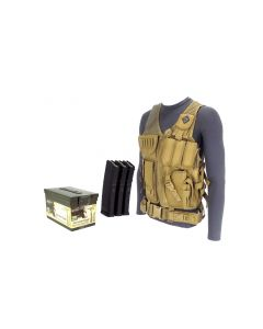 RTAC 5.56 NATO Tactical Vest w/ Magazines - 120 Rnd (Lake City)