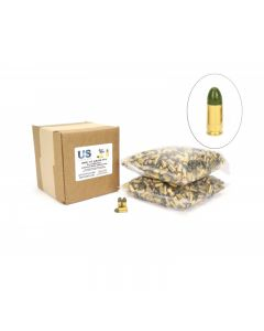 US Cartridge CleanBarrel™ 9mm 115 Gr Green TPJ - 1000 Round Bulk