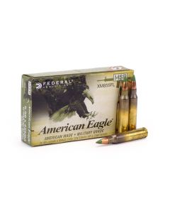 Federal 5.56 XM855 Green Tip 62 Grain FMJ BT Box