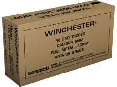 SG9W Winchester 9mm 115 Gr FMJ