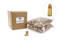 US Cartridge CleanBarrel Remanufactured 9mm 115 Gr Bronze TPJ (Bulk)