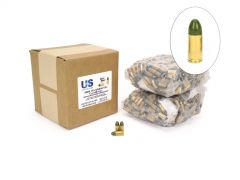 US Cartridge CleanBarrel Remanufactured 9mm 115 Gr Green TPJ