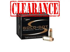 Speer Gold Dot .25 ACP 35 Grain HP