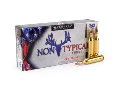 Federal Non-Typical Whitetail 243 Winchester 100 Grain SP