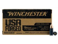 WIN9SV Winchester USA 9mm 115 Gr FMJ