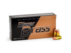 Blazer Brass 9mm 124 Grain FMJ (Box)