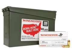 Winchester 45 ACP 230 Grain FMJ - 300 Rounds In Ammo Can