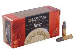 Federal Premium Gold Medal Match .22 LR 40 Grain Solid Point