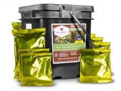 Wise Foods 07702 Grab and Go Bucket Freeze Dried Meat (60 Srvng(with Rice 20))