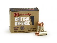 Hornady Critical Defense .45 ACP 185 Grain FTX