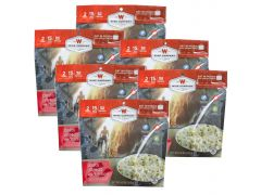Wise Foods 05902 Outdoor Food Kit Pasta Alfredo with Chicken Dehydrated/Freeze Dried