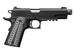 Browning 1911-22 Black Label Suppressor Ready with Rail 22 LR 10+1 Black/Gray