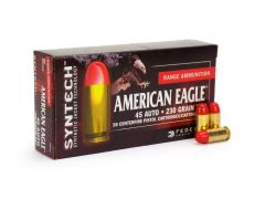 Federal American Eagle Syntech 45 ACP 230 Grain TSJ