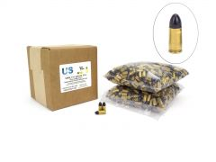 US Cartridge CleanBarrel Remanufactured 9mm 115 Gr Black TPJ (Bulk)
