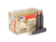 Wolf Military Classic .223 Rem 55 Gr HP (Box)