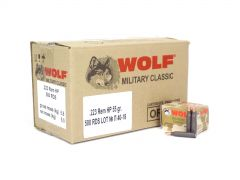 Wolf Military Classic .223 Rem 55 Gr HP (Case)