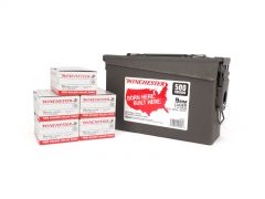 Winchester 9mm 115 Gr FMJ - 500 Rounds in Ammo Can Box