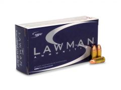 Speer Lawman CleanFire 9mm 115 Gr +P TMJ
