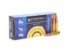 Federal Power-Shok Copper .300 AAC Blackout 120 GrHP Lead Free
