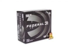 Federal American Eagle Black Pack 9mm 115 Gr FMJ