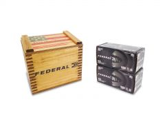 "Federal American Eagle Black Pack 380 ACP 95 Gr FMJ in ""We the People"" Crate - 400 Rounds"
